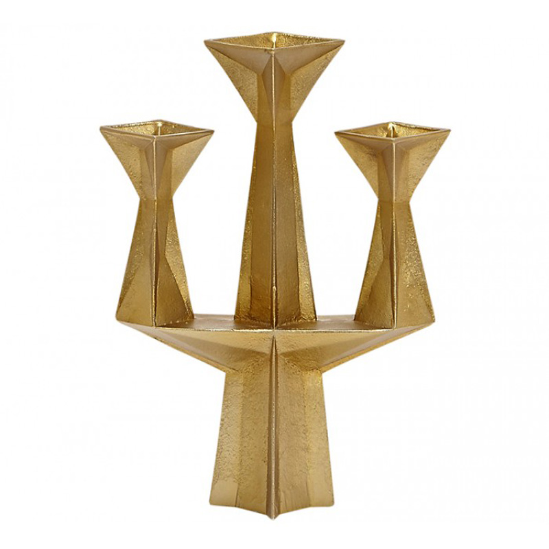 Канделябр Tom Dixon Gem Candelabra Brass/Gold